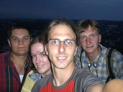 in Lviv with Bogdan and Yura