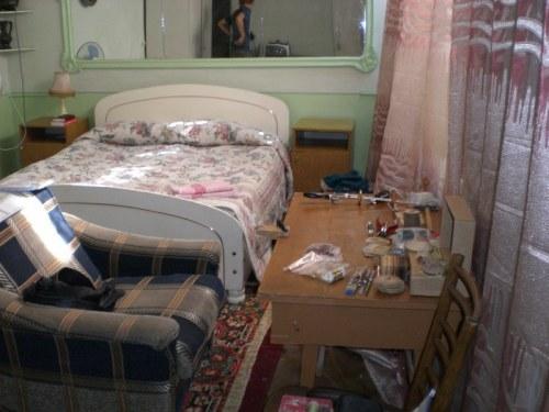 our room in Tashkent