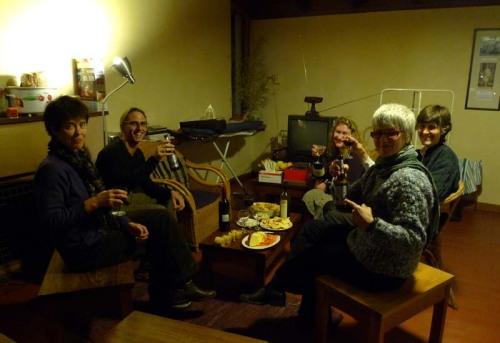 Megan, Dennis, Melanie, Dale and Kay (Caroline arrived later)