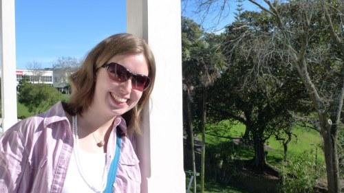 Susi in Auckland :-)